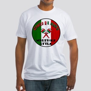 Martinez Cinco De Mayo Fitted T-Shirt