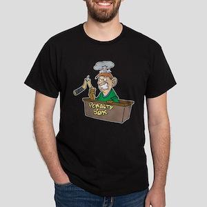 Man in Penalty Box Dark T-Shirt