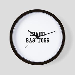 Idaho Bag Toss Wall Clock