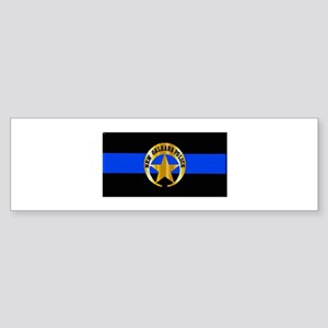NOPD Thin Blue Line Bumper Sticker