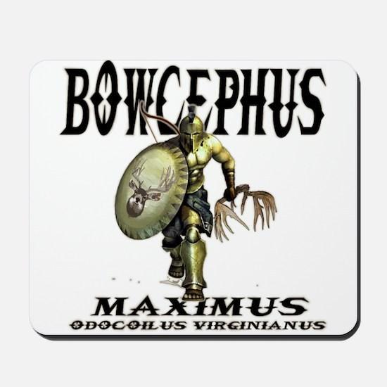 Bowcephus bow hunting art thi Mousepad