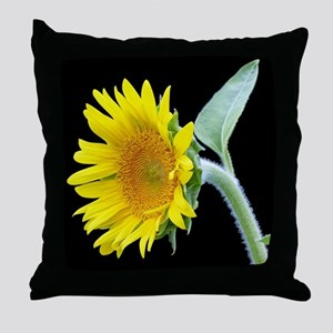 Small Sunflower Throw Pillow