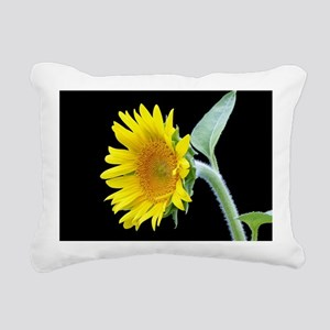 Small Sunflower Rectangular Canvas Pillow