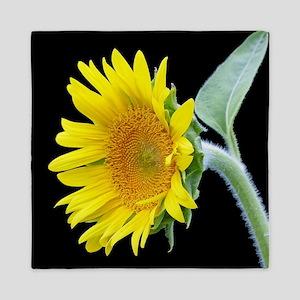Small Sunflower Queen Duvet