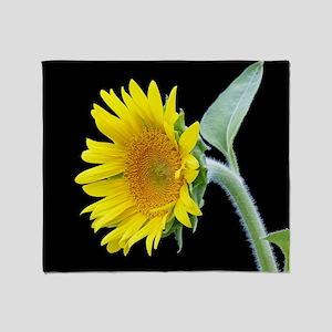 Small Sunflower Throw Blanket
