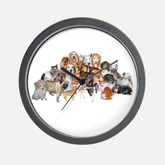 Other Dogs and Cats Wall Clock