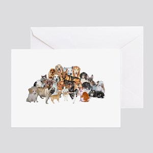 Other Dogs and Cats Greeting Card