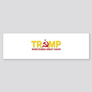 Trump Make Russia Great Again Bumper Sticker