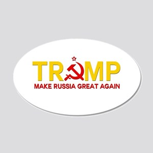 Trump Make Russia Great Again Wall Decal