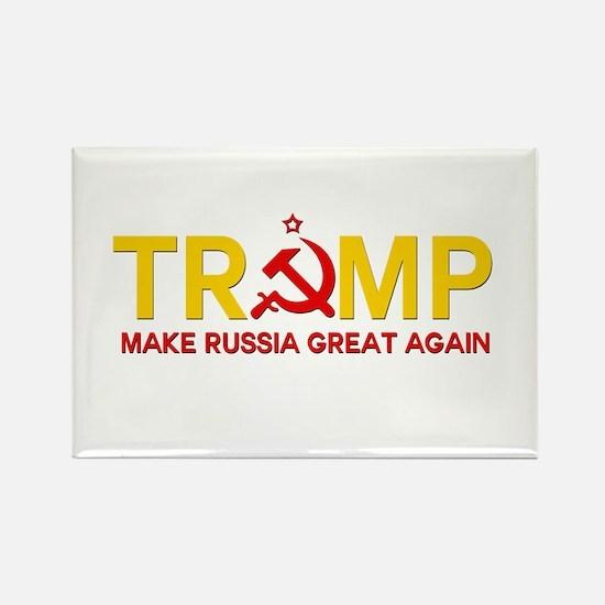 Trump Make Russia Great Again Magnets