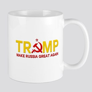 Trump Make Russia Great Again Mugs