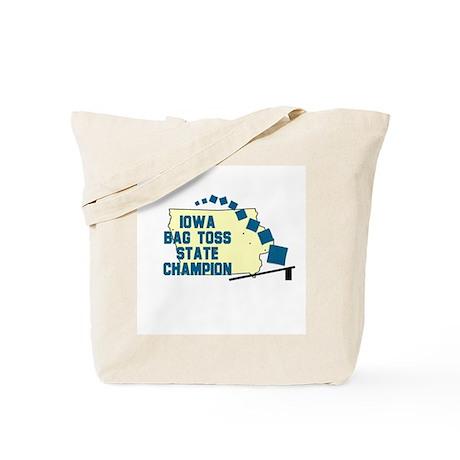 Iowa Bag Toss State Champion Tote Bag