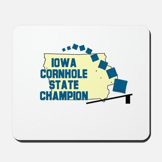 Iowa Cornhole State Champion Mousepad