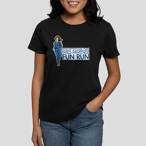 College Humor Fun Run Women's Dark T-Shirt
