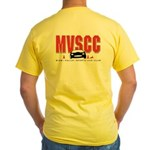 MVSCC Logo Yellow T-Shirt