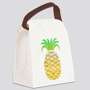Colorful Pineapple Canvas Lunch Bag