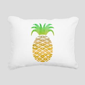 Colorful Pineapple Rectangular Canvas Pillow