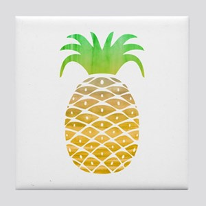 Colorful Pineapple Tile Coaster