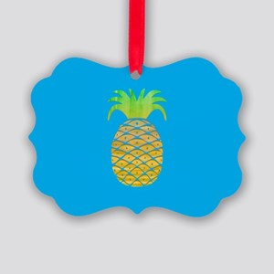 Colorful Pineapple Ornament