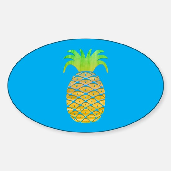Colorful Pineapple Decal