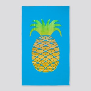 Colorful Pineapple Area Rug