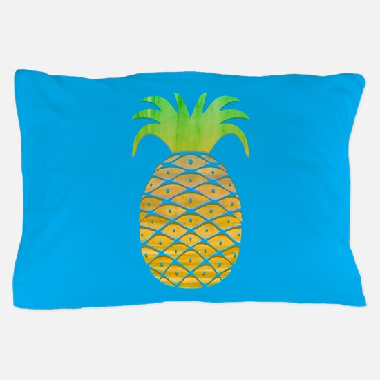 Colorful Pineapple Pillow Case