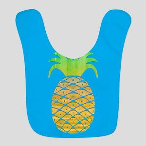 Colorful Pineapple Bib