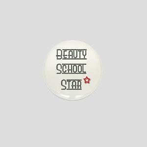 Beauty School Star Mini Button