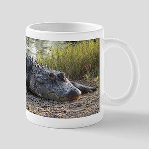 Alligator Lucy Enjoying the Late Afternoon Sun Mug