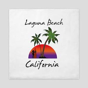 Laguna Beach California Queen Duvet