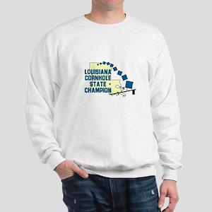 Louisiana Cornhole State Cham Sweatshirt
