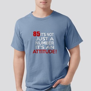85 It Is Just A Number Birthd Women's Dark T-Shirt
