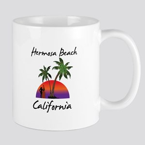 Hermosa Beach California Mugs