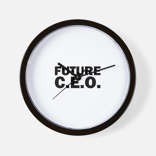 Future C.E.O. Wall Clock