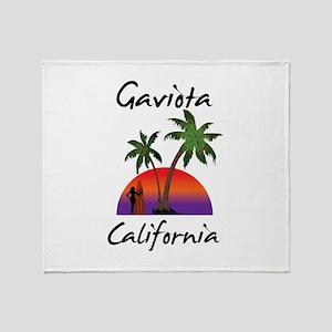 Gaviota California Throw Blanket