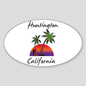 Huntington California Sticker
