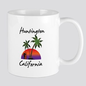 Huntington California Mugs