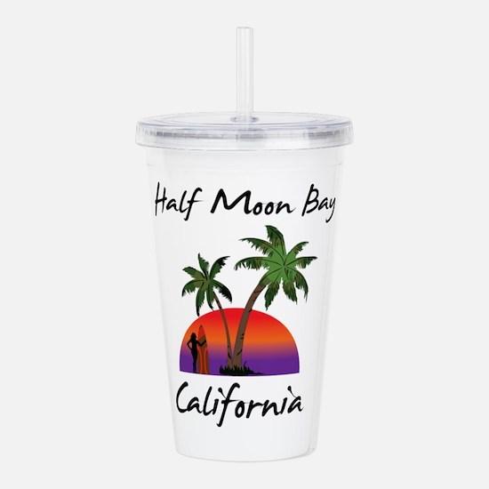 Half Moon Bay Californ Acrylic Double-wall Tumbler