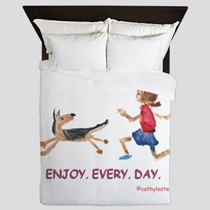 enjoy. every. day. 2 Queen Duvet