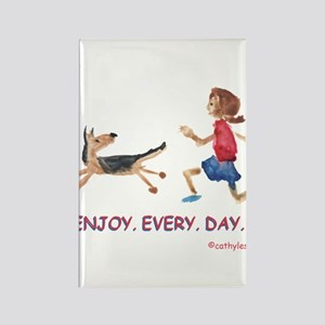enjoy. every. day. 2 Rectangle Magnet