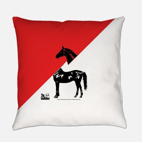The Godfather Horse Everyday Pillow