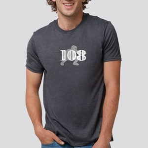108 Baseball Catcher Mens Tri-blend T-Shirt