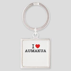 I Love AUMAKUA Keychains