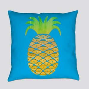 Colorful Pineapple Everyday Pillow