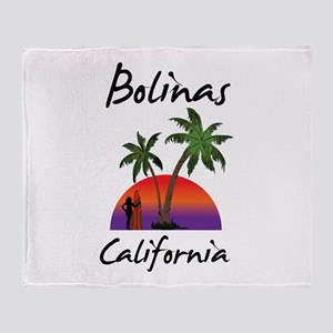 Bolinas California Throw Blanket