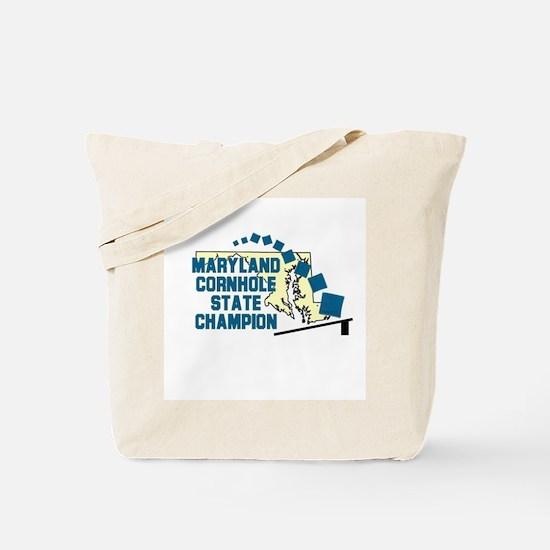 Maryland Cornhole State Champ Tote Bag