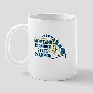 Maryland Cornhole State Champ Mug