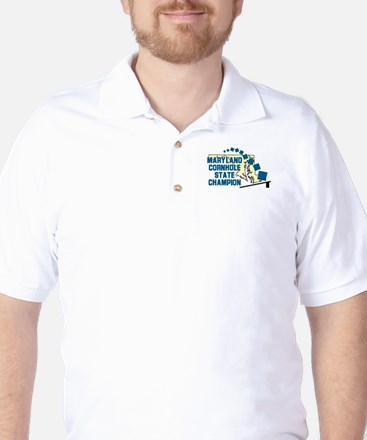 Maryland Cornhole State Champ Golf Shirt