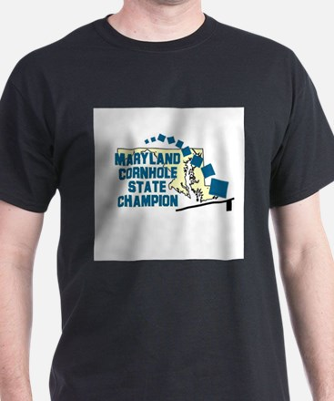 Maryland Cornhole State Champ T-Shirt