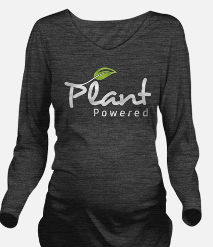 Cute Plant Long Sleeve Maternity T-Shirt